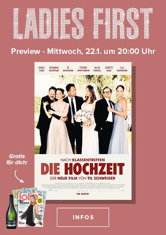 """Ladies First Preview """"Die Hochzeit"""""""
