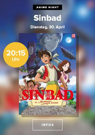 """Anime Night: """"Die Abenteuer des jungen Sinbad"""""""