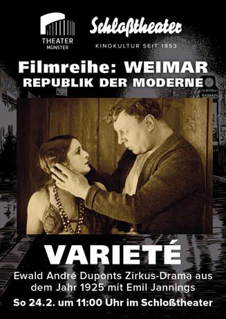 Weimar-Reihe: VARIETÉ