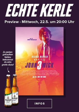 22.05. - Echte Kerle: John Wick: Kapitel 3