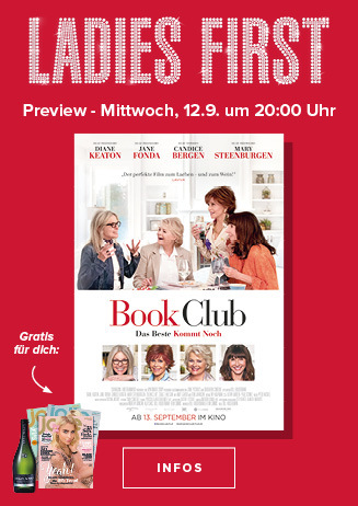 "Ladies First ""Book Club - Das Beste kommt noch"""