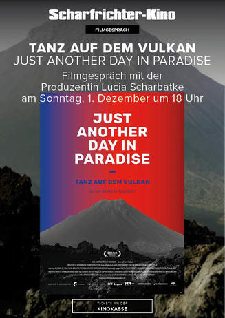 Tanz auf dem Vulkan - just another day in paradise