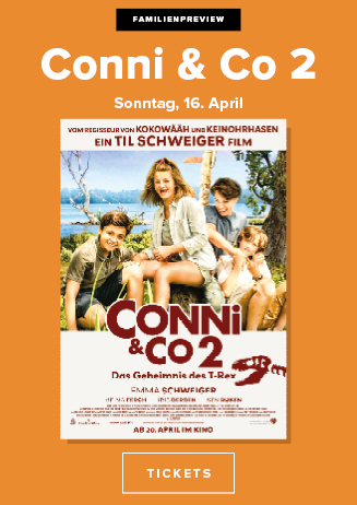 Familienpreview: Conni & Co 2 - Das Geheimnis des T-Rex