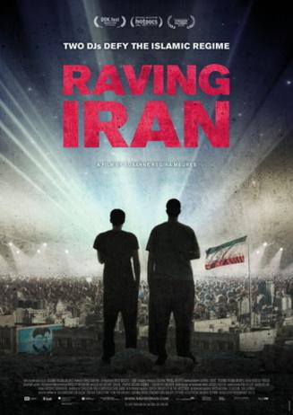 music on screen: RAVING IRAN