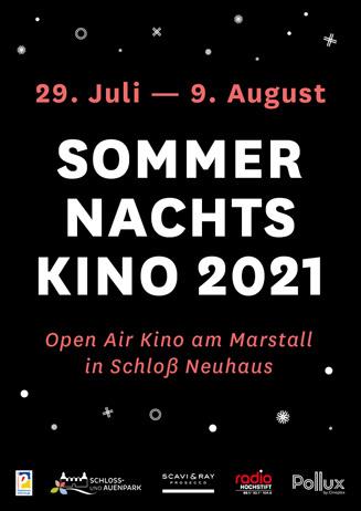 Sommernachtskino 2021 in Schloß Neuhaus