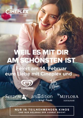 Valentinstag im deinem Cineplex!