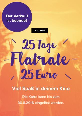25 Tage Flatrate