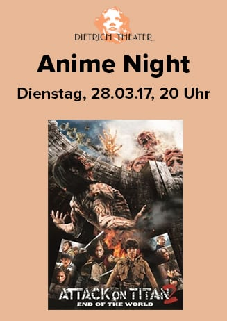 Anime Night: Attack on Titan Pt. 2 - End of the World