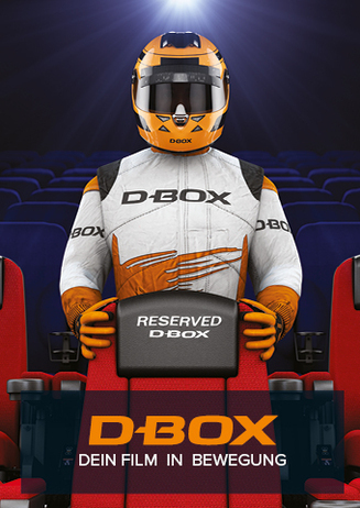 D-Box Motion Seats - Dein Film in Bewegung