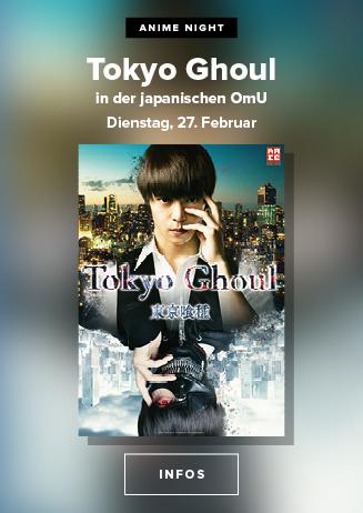 Anime Night: Tokyo Ghoul The Movie