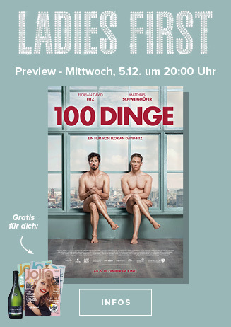 Ladies First Preview - 100 Dinge