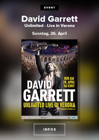 David Garrett Unlimited Live in Verona