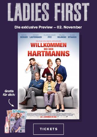 02.11. - Ladies First: Willkommen bei den Hartmanns