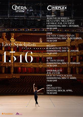 Klassik im Kino - Opéra National de Paris
