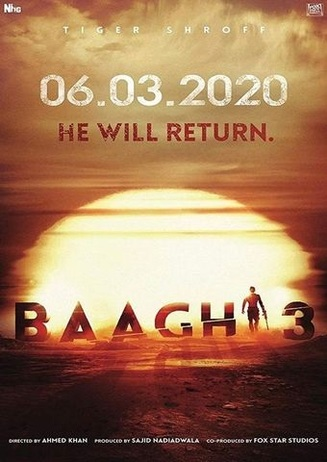 Hindi-Movie: BAAGHI 3