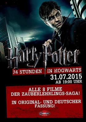 Der Harry Potter Marathon - 24 Stunden in Hogwarts