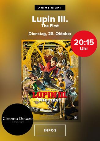 Anime Night: Lupin III: The First