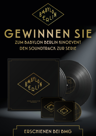 Gewinnspiel: BABYLON BERLIN