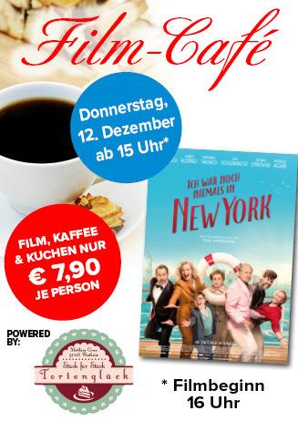"""191212 Film-Café """"Ich war noch niemals in New York"""""""