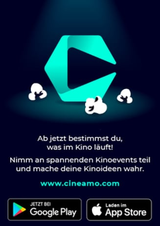 Cineamo - Ab jetzt bestimmst du, was im Kino läuft!