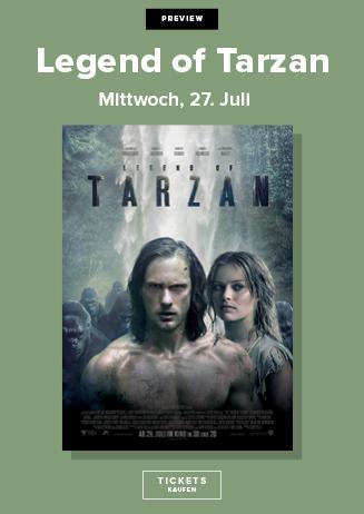 Vorpremiere LEGEND OF TARZAN 3D