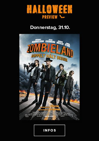 Halloween-Preview: Zombieland 2