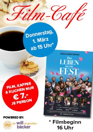 """180301 Film-Café """"Das Leben ist ein Fest"""""""