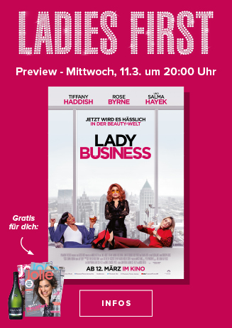 """Ladies First Preview """"Lady Business"""""""