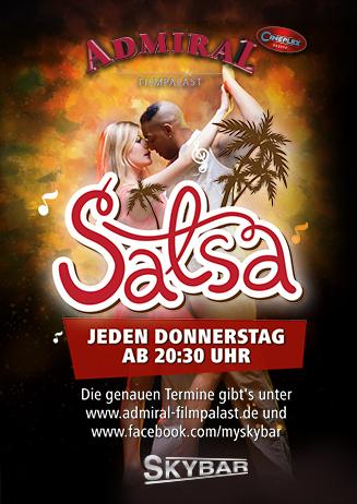 Salsa in der Skybar