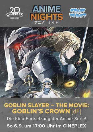 Anime Night 2020: Goblin Slayer – The Movie: Goblin's Crown