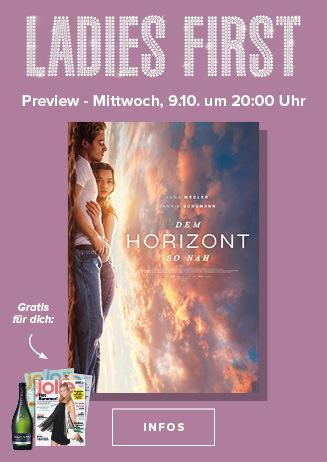 09.10. - Ladies First: Dem Horizont so nah