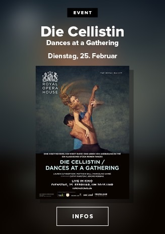 Royal Opera House: Die Cellistin / Dances at a Gathering
