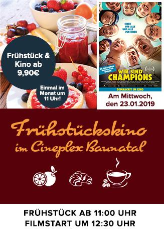 """Frühstückskino: """"Wir sind Champions"""""""