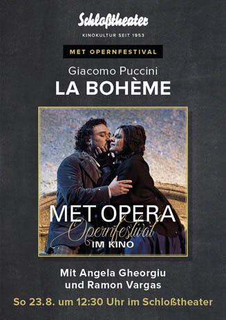 MET Opernfestifal: LA BOHEME
