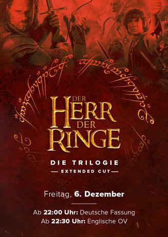 DER HERR DER RINGE Extended Triple