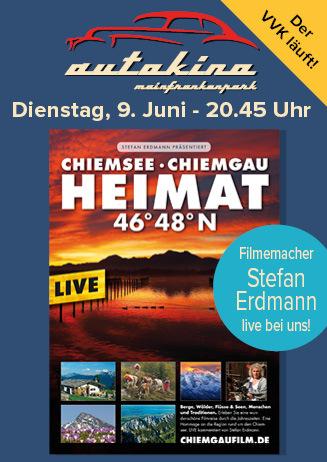 """200609 Starbesuch Autokino """"Heimat 46° 48°N - Chiemsee..."""""""
