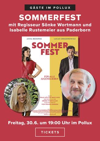 Sommerfest: Regisseur Sönke Wortmann 30.06