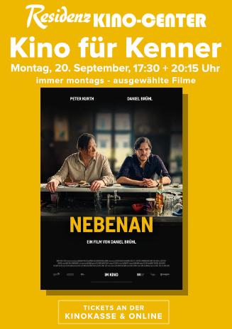 Kino für Kenner: Nebenan