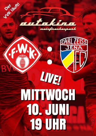 200610 Autokino: FWK - FC Carl Zeiss Jena