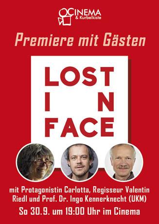 Premiere mit Gästen: LOST IN FACE