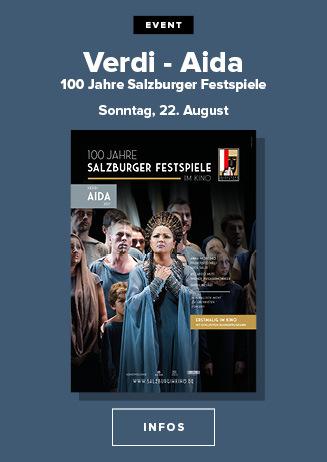 SALZBURG IM KINO: Verdi: AIDA