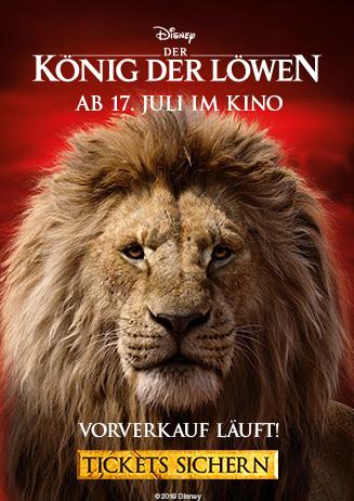 Vorverkauf König der Löwen