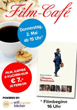 """190502 Film-Café """"Ein Gauner & Gentleman"""""""
