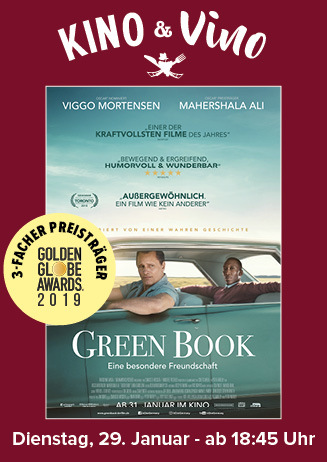 Kino & Vino: GREEN BOOK