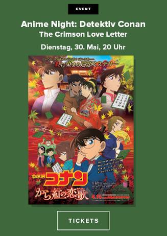 Anime Night: Detektiv Conan - The Crimson Love Letter