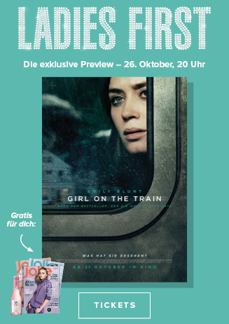 Ladies First-Preview: Girl on the train