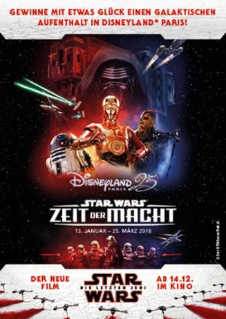 Gewinnspiel Star Wars bis 31.12.