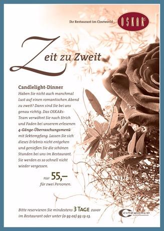OSKARs Candlelight-Dinner