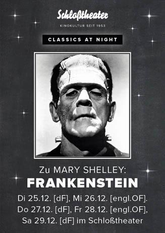 Classics at Night: FRANKENSTEIN