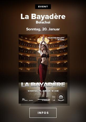 Bolshi-Ballett: La Bayadère